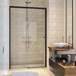 Mampara de ducha Duscholux Gravity One de 1 fijo + 1 puerta corredera entrega inmediata
