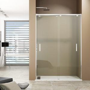 Mampara GME BYPASS de ducha 2 puertas correderas