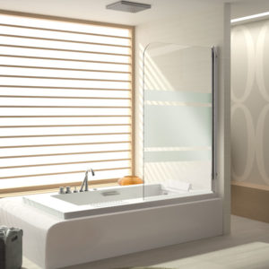 Mampara de bañera Kassandra serie 300 TR570
