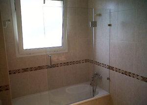 Mampara de bañera 1 hoja con segmento fijo PR/PF500 photo review
