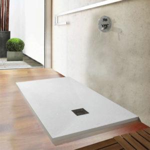 Plato de ducha Centuria Piedra a medida en resinas