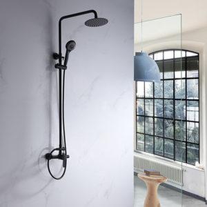 griferia de ducha Imex Roma negra