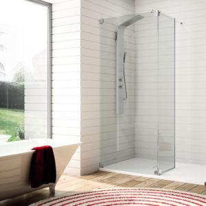 Mampara de ducha Kassandra serie Fresh FR a medida