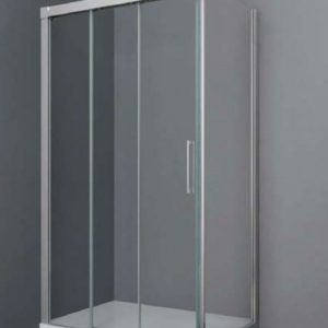Lateral fijo GME Trio en cristal transparente