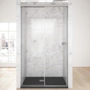 mampara de ducha 3 puertas correderas