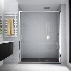 mampara de ducha corredera de 1 puerta