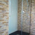 Mampara de ducha de 1 puerta corredera y 1 Fijo GME Vetrum photo review