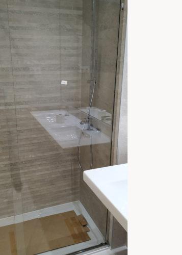 Mampara de ducha de 1 puerta corredera y 1 Fijo SH/FDC800 photo review