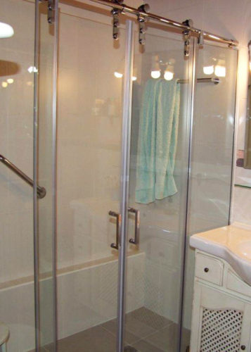 Mampara de ducha de 2 puertas correderas y 2 fijos PR/FDC640 photo review