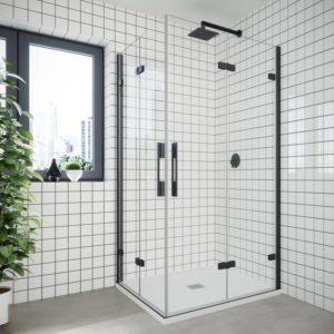 mamparas de ducha plegables y batiente