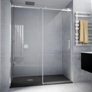 Mampara de ducha acero inoxidable aisi 304