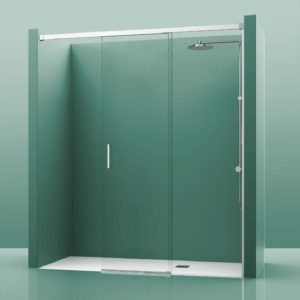mampara de ducha sin perfileria inferior