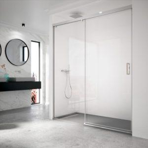 Mampara de ducha de calidad máxima de acero inoxidable