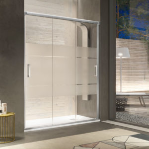 Mampara de ducha Kassandra Sabina BN101 3 puertas clio