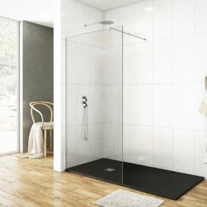 mampara GME Screen fijo de ducha de cristal