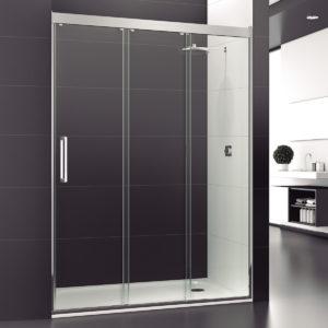 mampara de ducha 3 puertas correderas (1 de ellas fija)
