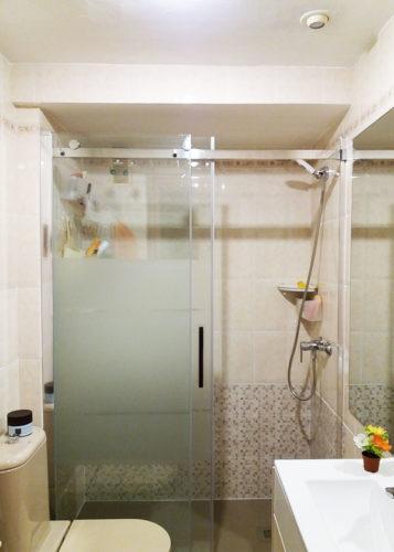 Mampara de ducha de 1 puerta corredera y 1 Fijo KASSANDRA Liberty LI 102 photo review