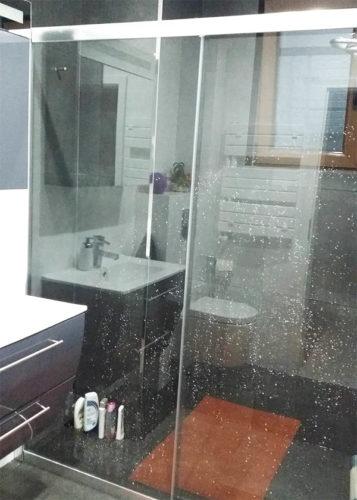 Mampara de ducha de 1 puerta corredera y 1 Fijo PROFILTEK Spring SPG-310 photo review