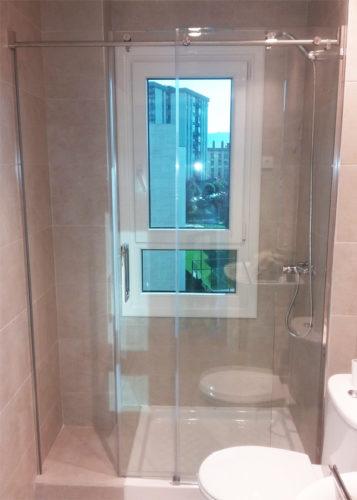 Mampara de ducha de 1 puerta corredera y 1 Fijo DEYBAN Saina 2P photo review