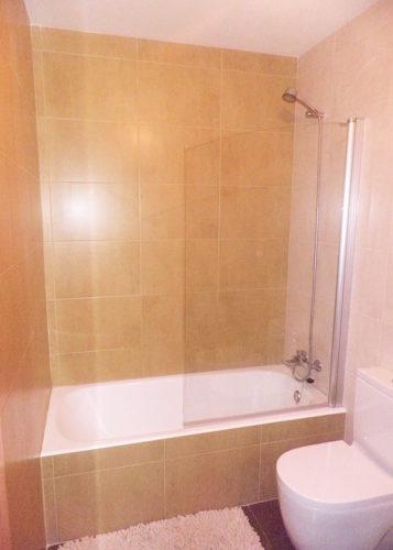 Mampara de bañera de 1 hoja SV/P100 photo review