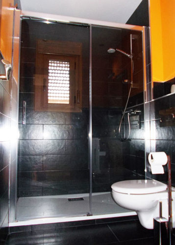 Mampara de ducha de 1 puerta corredera y 1 Fijo GME Aktual photo review