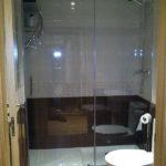 Mampara de ducha de 1 puerta corredera y 1 Fijo GME Prestige Titan Frontal photo review