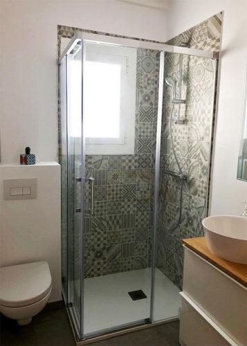 Mampara de ducha en esquina de puertas correderas CT/ADD600 photo review