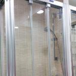 Mampara de ducha en esquina de puertas correderas DUSCHOLUX Plus Evolution Angular 2 Fijos / 4 Correderas Ducha CON guia inferior photo review