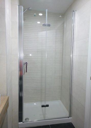 Mampara de ducha de puertas plegables KASSANDRA NARDI Plegable NA 300 photo review