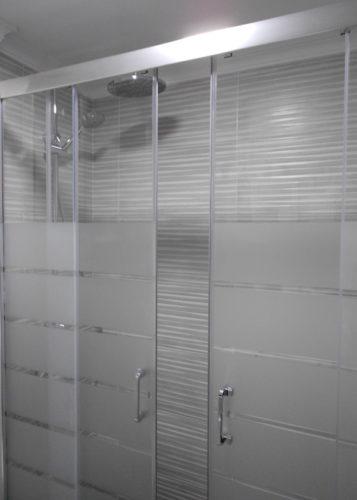 Mampara de ducha de 2 puertas correderas y 2 fijos PROFILTEK Summer SUM-325 photo review