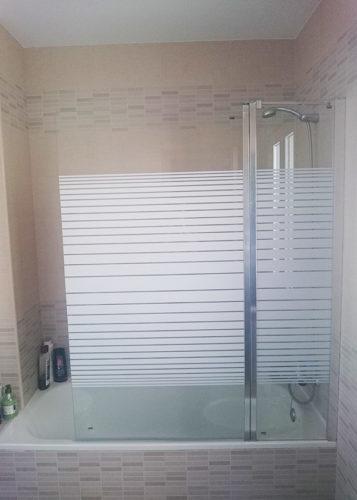 Mampara de bañera 1 hoja con segmento fijo GME Open 2 photo review