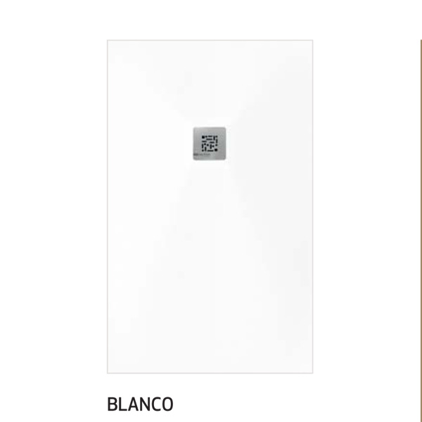 plato ducha color blanco
