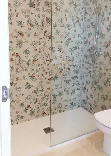 Plato de ducha de resina con marco SIROCO photo review