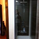 Mampara de ducha de 1 puerta batiente GME Open Combi A photo review