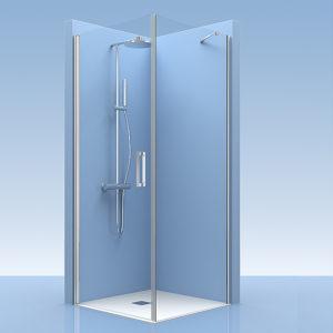 Puertas de ducha de cristal a medida
