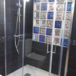 Mampara de ducha en esquina de puertas correderas KASSANDRA Bella BL 607 + BL 607 photo review