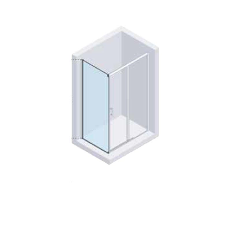 Lateral Fijo Lateral fijo Bañera a 90º Duscholux Gravity One