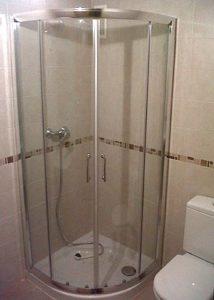 Mampara de ducha circular de puertas correderas PR/CDC300 photo review