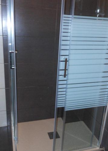 Mampara de ducha en esquina de puertas correderas PR/ADD401 photo review