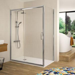 Mampara de ducha Kassandra Mileto Serie Bella BL 102 en oferta