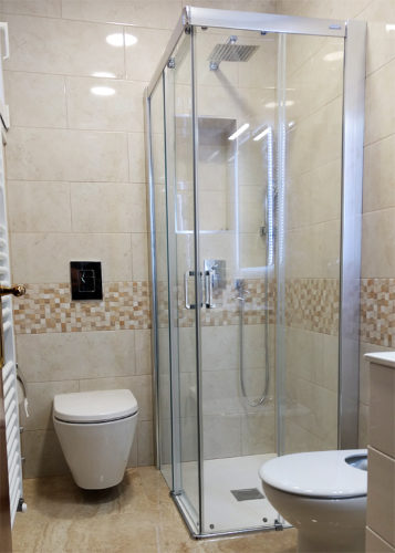 Plato de ducha de resina FLAT Granito photo review