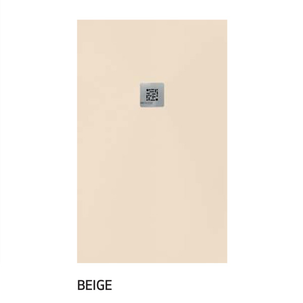 plato ducha color beige