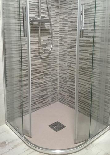 Mampara de ducha circular de puertas correderas JV/CDC400 photo review
