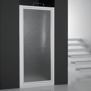 Mampara de ducha puerta batiente acrilica