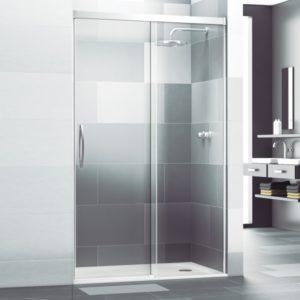 Mampara de ducha corredera cristal