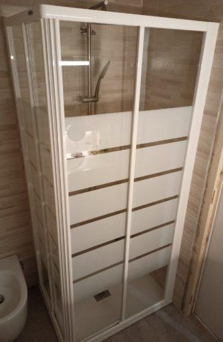 Mampara de ducha en esquina de puertas correderas SV/ADD100 photo review