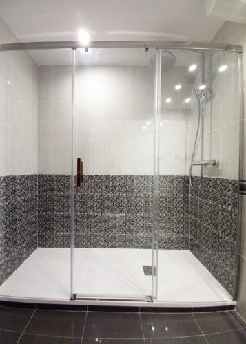 mamparas ducha acero en barcelona