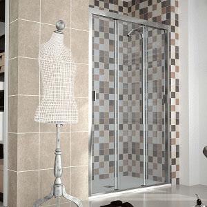 Mamparas de ducha de 2 o 3 puertas correderas