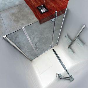 Mamparas de ducha de 1 puerta batiente